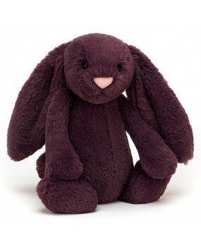 BASHFULL PLUM BUNNY MEDIUM