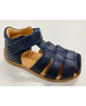 CARLY SANDAL NAVY