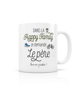 """MUG """"HAPPY FAMILY PERE"""""""