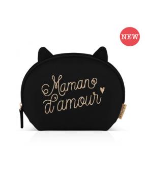 """TROUSSE VELOUR """"MAMAN D'AMOUR"""""""
